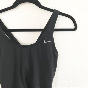 ** Nike ** workout racerback tank black